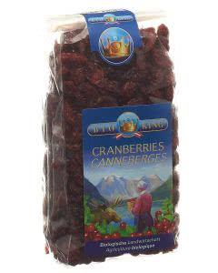 Bio King - Ebi-vital - getrocknete CRANBERRIES - 250g