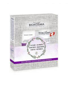 Biokosma Geschenkset Edelweiss - Aroniabeere Shower Cream + Body Cream - 2 x 200ml
