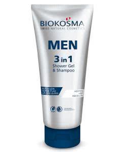 Biokosma - MEN - Shampoo & Showergel 3 in 1 - 200ml