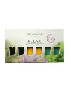 Biokosma Badeportionen Relax - 6 x 20ml