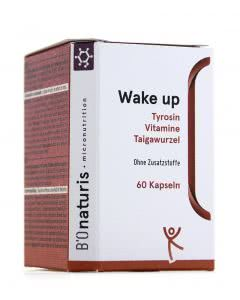 Bionaturis Wake-Up Tyrosin Taiga Vitamine - 60 Kaps.