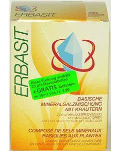 Biosana Erbasit - basische Mineralienmischung mit Kräutern - 240g Pulver