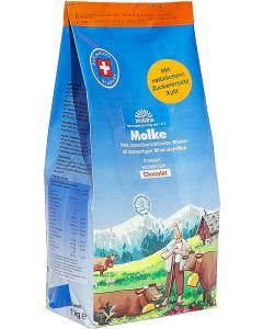 Biosana Molke Granulat Chocolat Nachfüllbeutel - 1kg