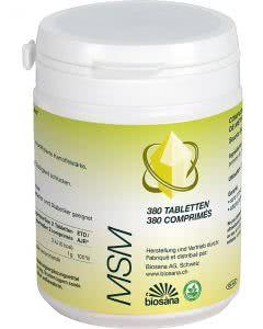 Biosana MSM Methylsufonylmethan - 380 Tabl.