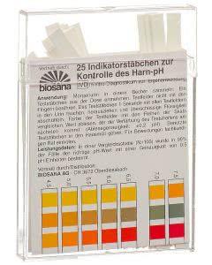 Biosana Indikatorstäbchen pH 4.5-9.25 - 25 Stk.