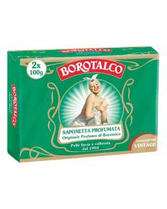 Borotalco Rückfettende Festseife - 2 x 100g