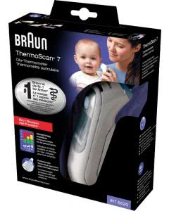 Braun (PI) ThermoScan Ohrthermometer 7 IRT 6520