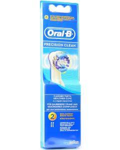 Braun Oral-B Precision Clean Ersatzbürsten - 2 Stk.
