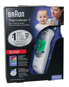 Braun Thermoscan 7 Ohr-Thermometer IRT 6520