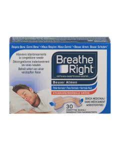 Breath Right (Besser Atmen) Nasenpflaster beige normal - 30 Stk.