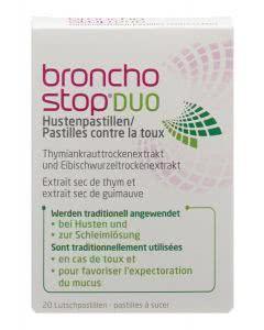 Bronchostop Duo Hustenpastillen - 20 Stk.