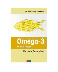 Buch: Omega-3 Öl des Lebens - Dr. med. Volker Schmiedel