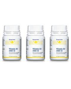 Burgerstein Vitamin D3 2000IE Triopack