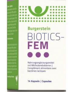 Burgerstein - Biotics-FEM - 14 Stk.