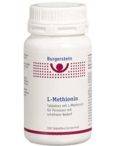 Burgerstein - L-Methionin - 100 Tabl.