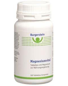 Burgerstein - Magnesiumvital - 120 Tabl.