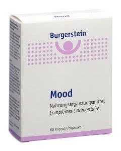 Burgerstein - Mood Safran Melisse B-Vitamine - 60 Kaps.
