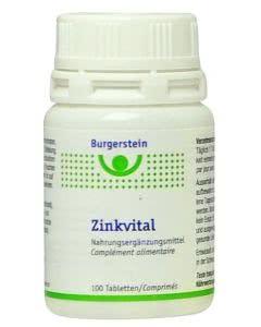 Burgerstein - Zinkvital - 100 Stk.