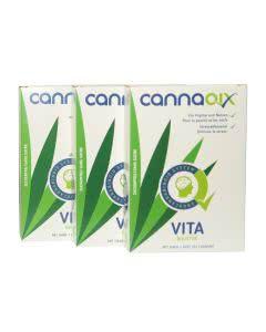 Cannaqix für Psyche und Nerven - 3x24 Pastillen
