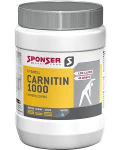Sponser L-Carnitin 1000 Mineraldrink Exotic - 400 g