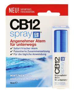CB 12 Mund-SPRAY gegen schlechten Atem - Minze/Menthol - 15ml