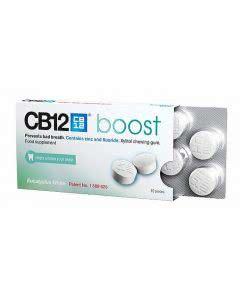 CB 12 Boost Eucalyptus White Kaugummi - 10 Stk.