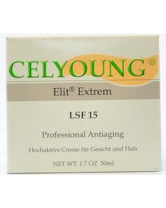 CELYOUNG Elit Extrem LSF 15 - Antiaging Gesichts und Hals - 50ml