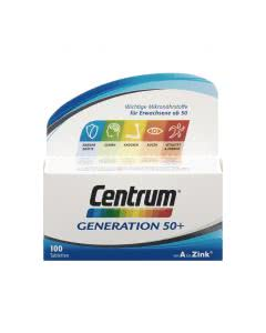 Centrum Generation 50+ von A bis Zink - 100 Tabletten