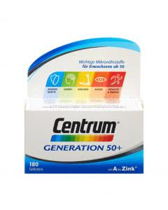 Centrum Generation 50+ - SPAR-Pack mit 180 Tabletten