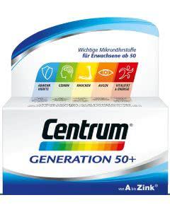 Centrum Generation 50+ von A bis Zink - 60 Tabletten
