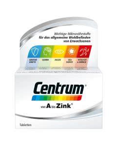Centrum Vitamin Tabletten - Sparpackung mit 100 Stk.
