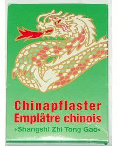 Chinapflaster - Shangshi Zhi Tong Gao - grün - neutral bis leicht kühlend - 10 Stk.