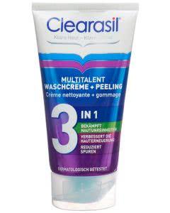 Clearasil Multitalent Waschcreme & Peeling - 150ml