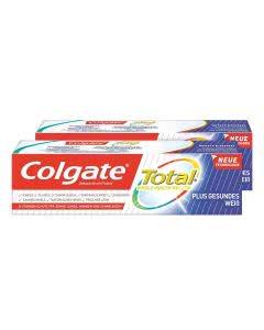 Colgate Total Plus Gesundes Weiss Zahnpasta - Doppelpack 2 x 75ml