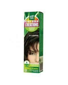 Kreson Hennaplus Colour Creations mittel braun 4 - 60ml