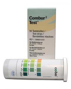 Combur 3 Test Streifen - 50 Stück