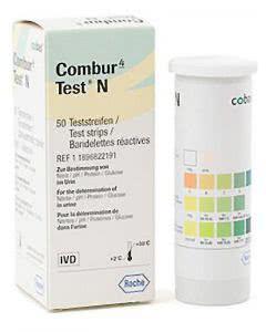 Combur 4 Test N Streifen - 50 Stück