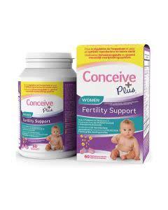 Conceive Plus Fruchtbarkeitsunterstützung für Frauen - 60 Kapseln