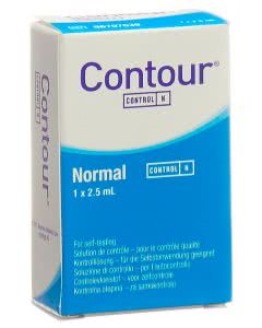 Contour Kontroll-Lösung normal - 2.5ml