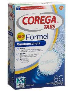 Corega Tabs Tabletten Bio Formel - 66 Stk.