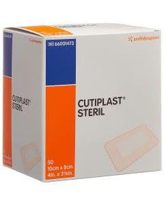 Cutiplast Wundverband steril, weiss - 50 Stk. à 10cm x 8cm