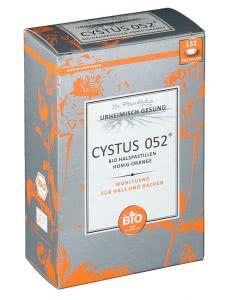 Cystus 052 mit Zystrose Honig-Orange - 132 Lutschtabletten