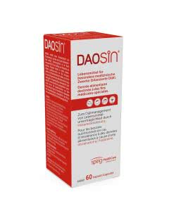 Daosin DAO bei Histaminunverträglichkeit - 60 Kaps.
