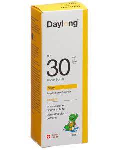Daylong 30 Baby Lichtschutzcreme OHNE chemische Filter - SPF 30 - 50ml