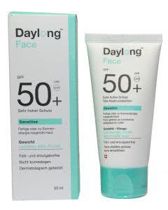 Daylong 50 FACE sensitiv leichtes Gel-Creme Fluid - 50ml