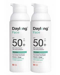 Daylong 50+ FACE - BB sensitive - mattierendes getöntes Fluid - 50ml