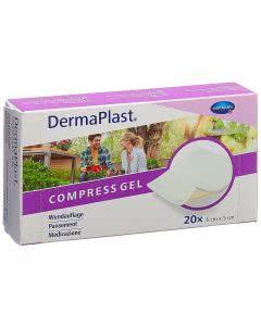 DermaPlast Compress Gel 5x5cm - 20 Stk.