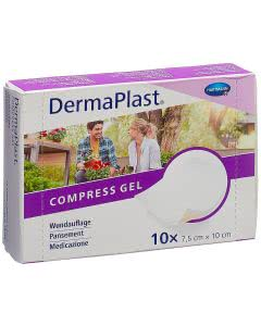 Dermaplast Compress Gel 7.5x10cm - 10 Stk.