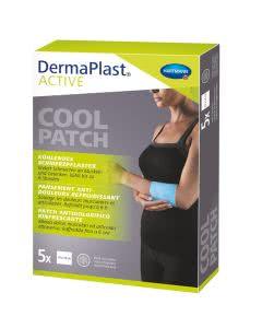 DermaPlast Active Cool Patch 10x14cm - 5 Stk.