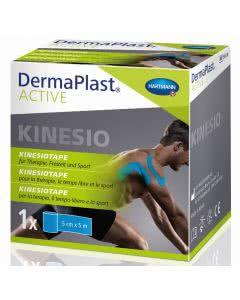 DermaPlast Active Kinesiotape - 5cm x 5m - blau